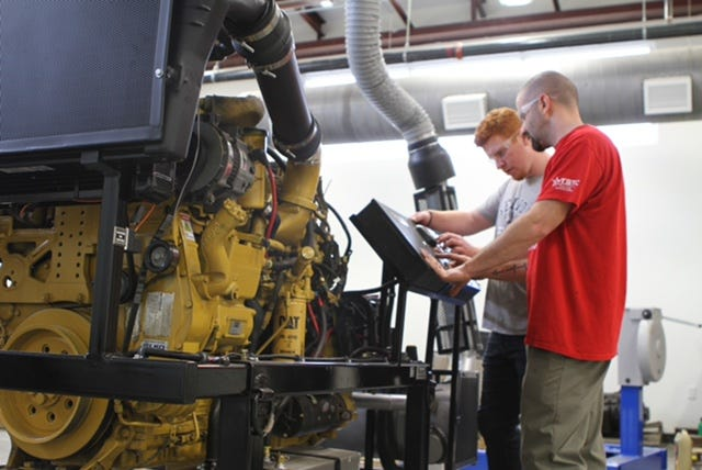 Texas State Technical College in North Texas offers an associate degree and two certificates in the Diesel Equipment Technology program.