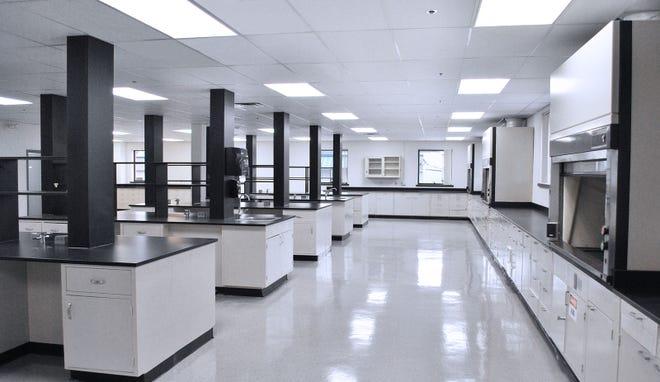 Lab space at Cummings.