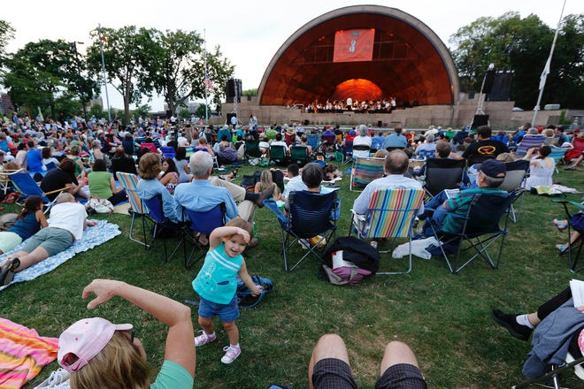 TheLandmarks Orchestra is hoping to perform its Wednesday evening concerts on the Esplanade this summer.