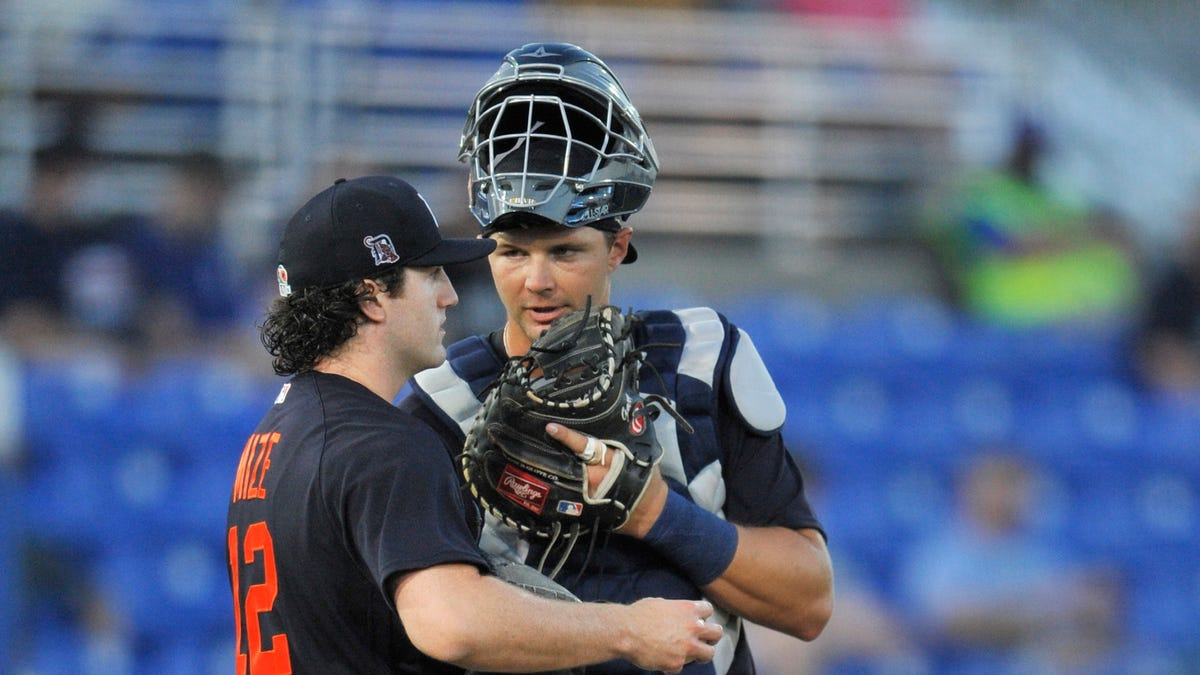Tigers tie Blue Jays, Mize strikes out 9 in late bid for rotation spot 2