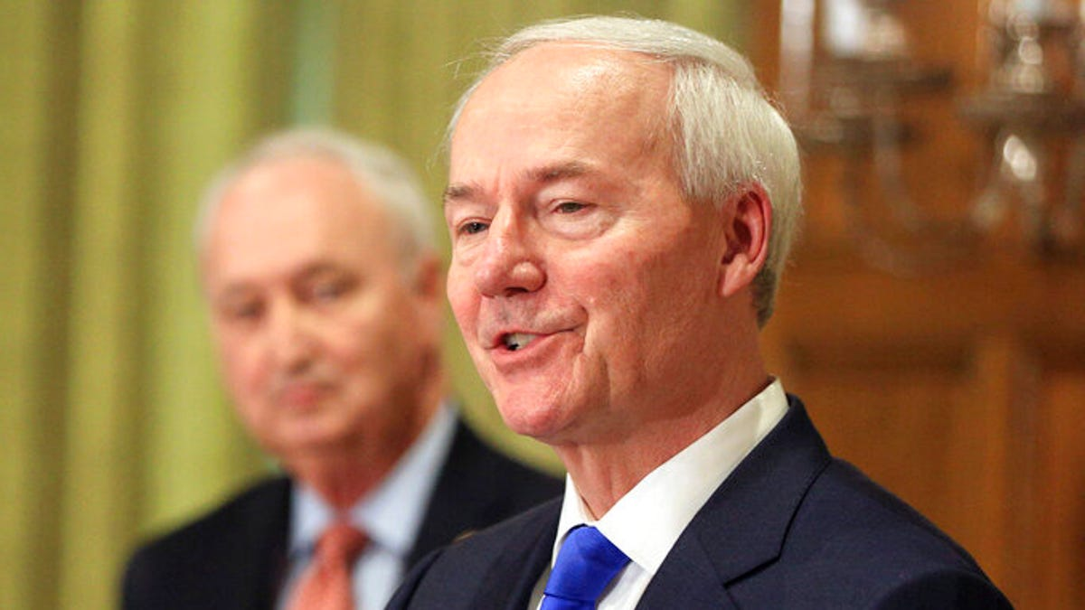Arkansas governor signs medical conscience objections law 1