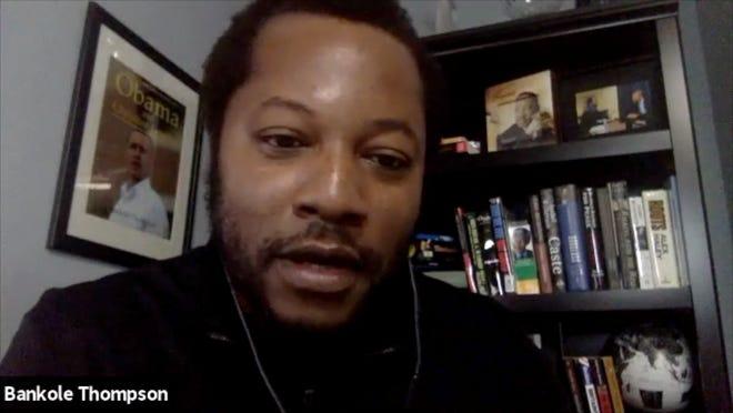 "Detroit News columnist Bankole Thompson hosted ""Exploring the Promise Path: A Detroit News Webinar"" on Zoom on Thursday evening."