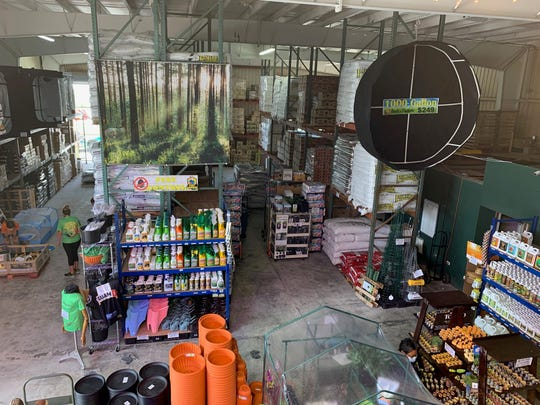 Back to Nature — Gardening & Hydroponics occupies a converted warehouse space on Pick-A-Nail Road, in Tamuning. India Sekiguchi, and her husband, Ken, last November started the storew after their tourism-related wholesale business was hit by the pandemic shutdown.