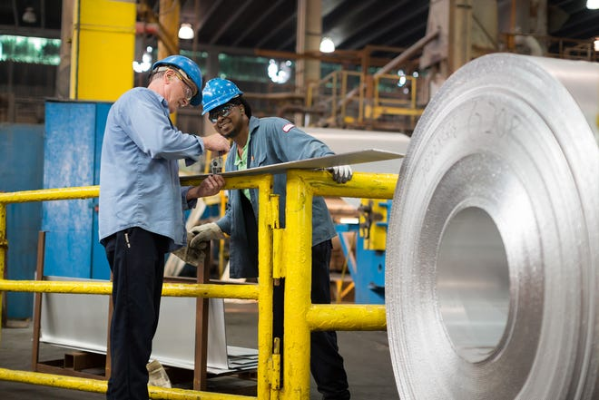 Granges is an aluminum production company that has a facility in Huntingdon.