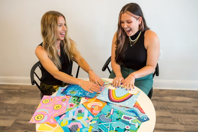 Two Lafayette Parish natives, Taylor Curry (author) and Emily Spikes (illustrator), have written and illustrated a children's book. Friday, March 26, 2021.