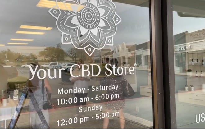 Your CBD Store opened in Pensacola on Thursday at 4761 Bayou Blvd.