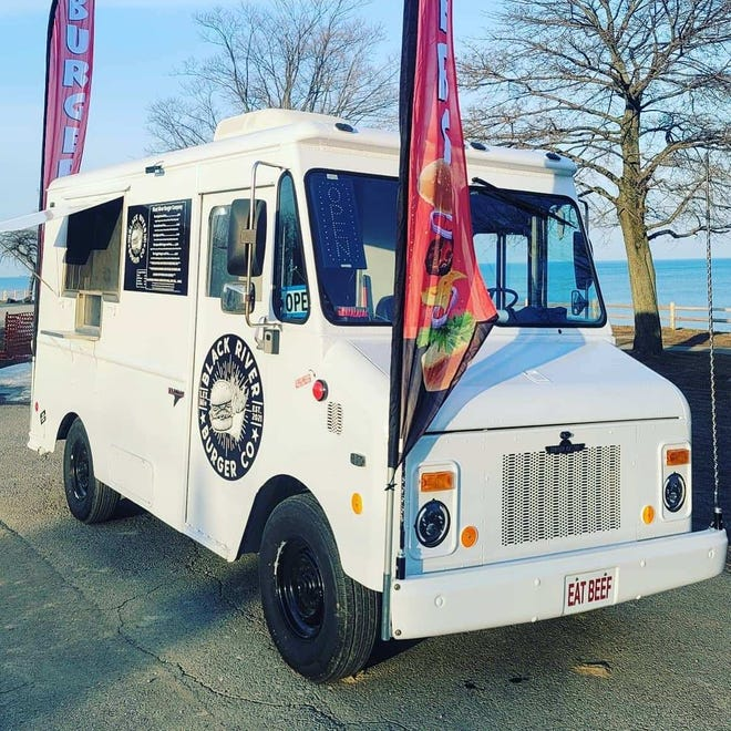 """Patrick Blakeley, who owns Lexington Coffee Co., is opening Black River Burger Co. The food truck will serve burgers, fries and vegetarian options, have a """"secret menu"""" and be a ghost kitchen for www.saturdaywesmoke.com, a delivery and pick-up BBQ service."""