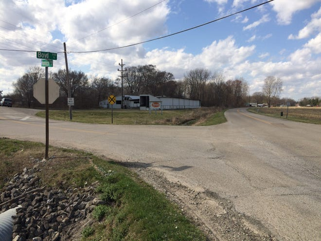The Indiana Supreme Court heard oral arguments Thursday, April 29, 2021, in a lawsuit that contends high vegetation contributed to a 2014 crash at the intersection of Boyd and Hunnicut roads near Cambridge City.