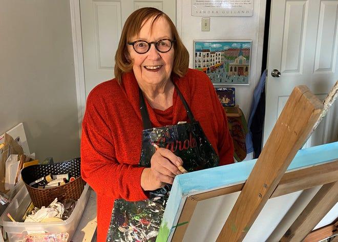 Artist Carole Wantz is a Richmond native.