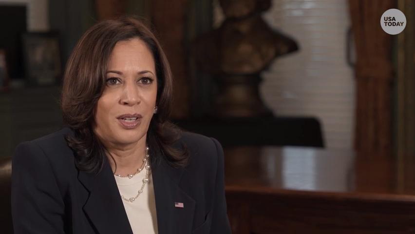 Vice President Kamala Harris embraces role of representing American women