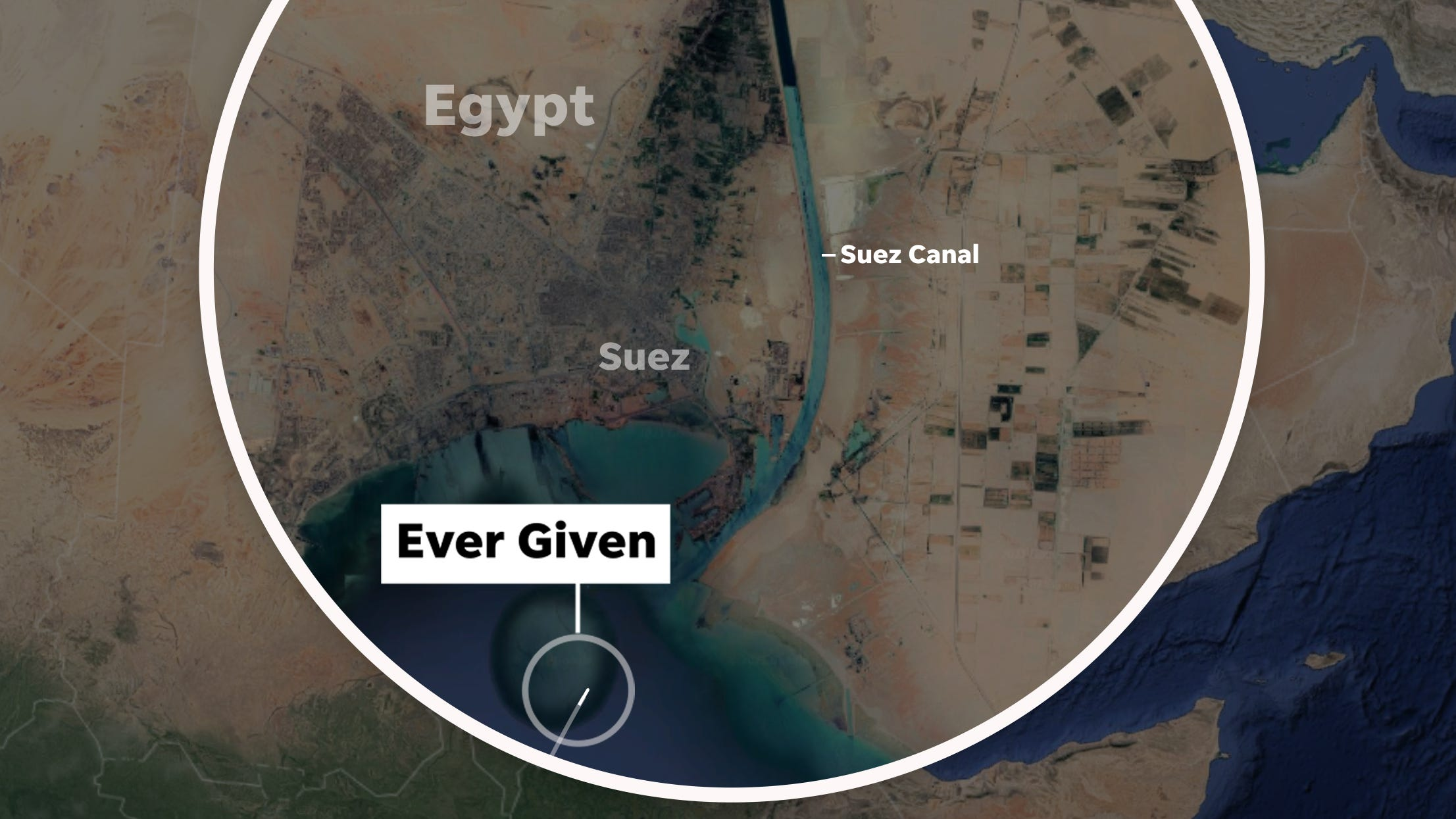 Suez Canal ship stuck: How did Ever Given get stuck?