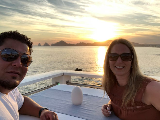 Antonio and Shelley Delgado celebrated their 20th anniversary in Cabo San Lucas, Mexico, in February.