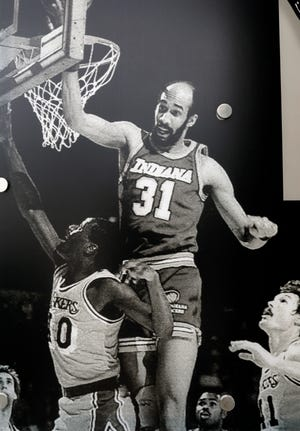 Former East High School standout Granville Waiters is featured on a panel on the Long Street Cultural Wall connecting Downtown to the Near East Side. Waiters died this week at the age of 60.