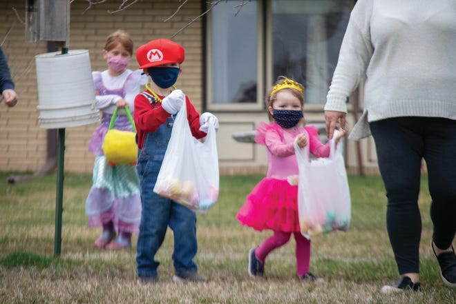 """Dinwiddie Parks and Recreation will host """"ALL HOLIDAYS"""" event where kids may hunt for Easter eggs while wearing Halloween costumes on Friday, Sept. 24, 2021."""