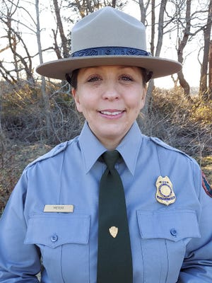 Martina Meyers was recently named First State National Historical Park's first chief ranger.