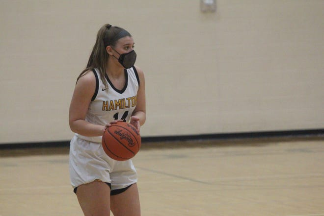The Hamilton girls lost to West Catholic in the district title game on Friday, March 26, 2021