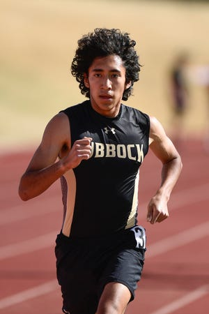 Lubbock High's Isaac Alonzo signed his national letter of intent to run cross country and track at the University of Texas at Austin on Wednesday. He's the first Westerner to do so since decathlete Erin Lopez signed with Texas Tech in 2015. [Justin Rex/For A-J Media]