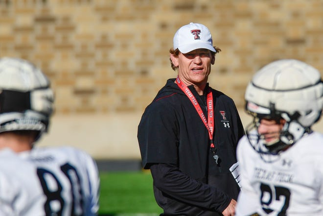 Friday is Texas Tech's first scrimmage of spring football, giving new offensive coordinator Sonny Cumbie a chance to see how well his players have mastered all he's installed the past three weeks.