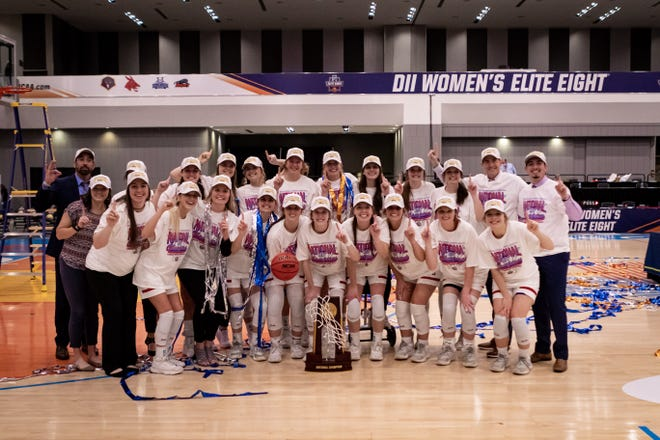 The Lubbock Christian University women's basketball team won the Division II NCAA Tournament for the third time with a 69-59 victory against Drury on Friday night in Columbus, Ohio.