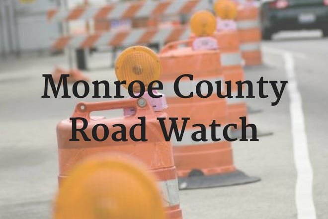 Road Watch reports for Monroe County