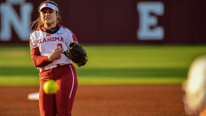 Shannon Saile pitched OU to a 10-2 win over Iowa State on Saturday, striking out 11 Cyclones.