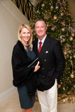 William Mikus with his wife, Paula, at a New Hope event in December 2018. Mikus was recently named chairman of the Salvation Army Advisory Board.