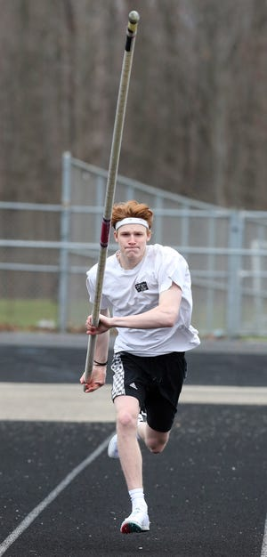 After winning a national title in February, Green pole vaulter Conner McClure is ready to charge into the high school outdoor track and field season.
