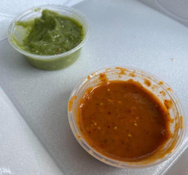 El camión de comida Tacveria La Bendisian en Lincoln Way E en Perry Township prepara auténtica cocina mexicana, que incluye tacos callejeros, burritos, jabón y salsas exclusivas de chimpancés.