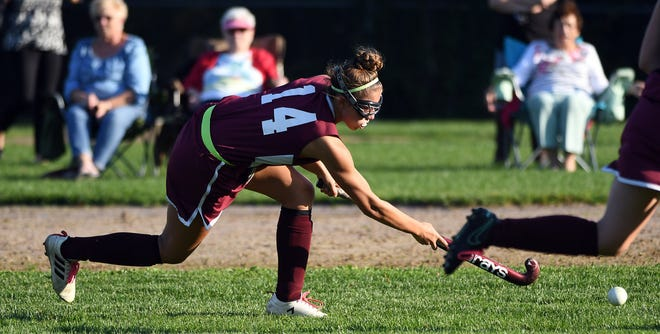 Doherty's Madeleine Wanat fires off a shot during her sophomore season.
