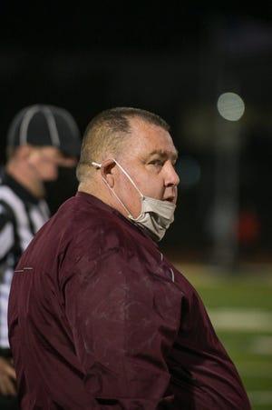 Doherty Head Coach Sean Mulcahy.