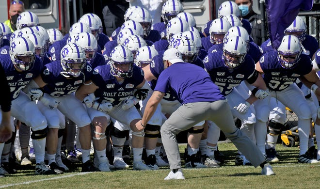 For the second straight Saturday, Holy Cross' football game has been canceled.