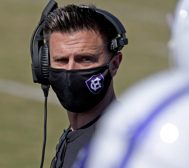 Holy Cross football coach Bob Chesney is hopeful his team can resume proper preparation for Saturday's Patriot League title game.