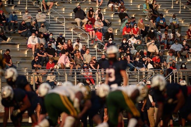 Terry Sanford's football game at Kernersville Glenn has been postponed.