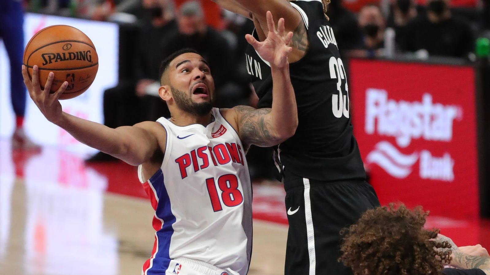 Detroit Pistons' Cory Joseph talks about final missed shot vs. Nets