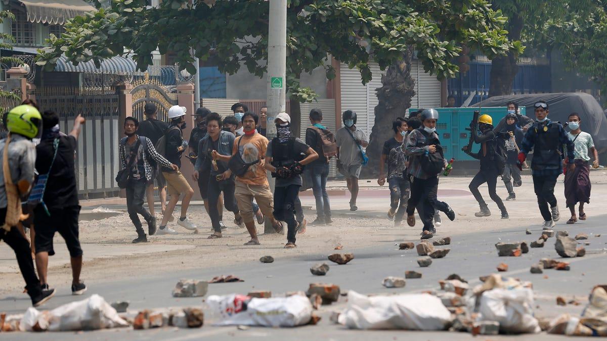 Myanmar forces kill dozens in deadliest day since coup 2