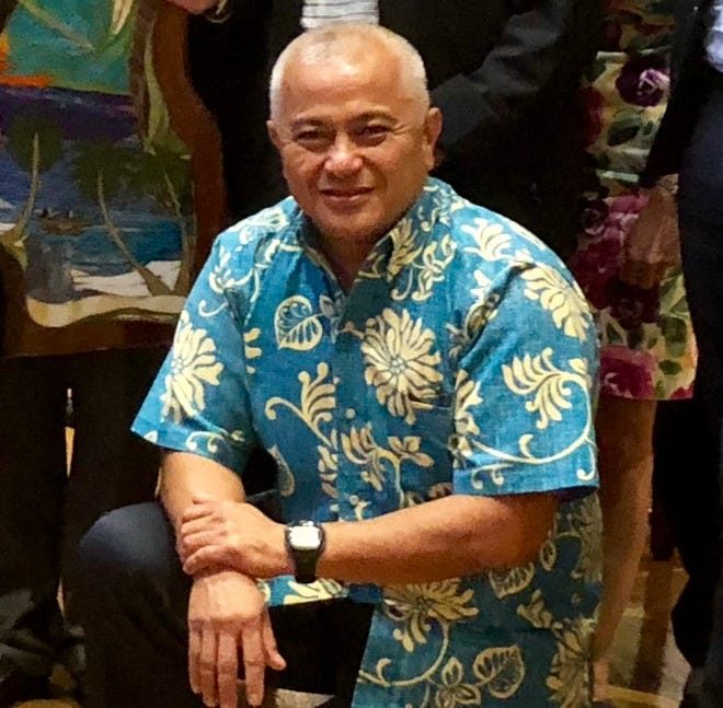 """Vicente """"Ben"""" Babauta Jr. was named Chief Executive Officer for the 2022 Northern Marianas Islands Pacific Mini Games."""