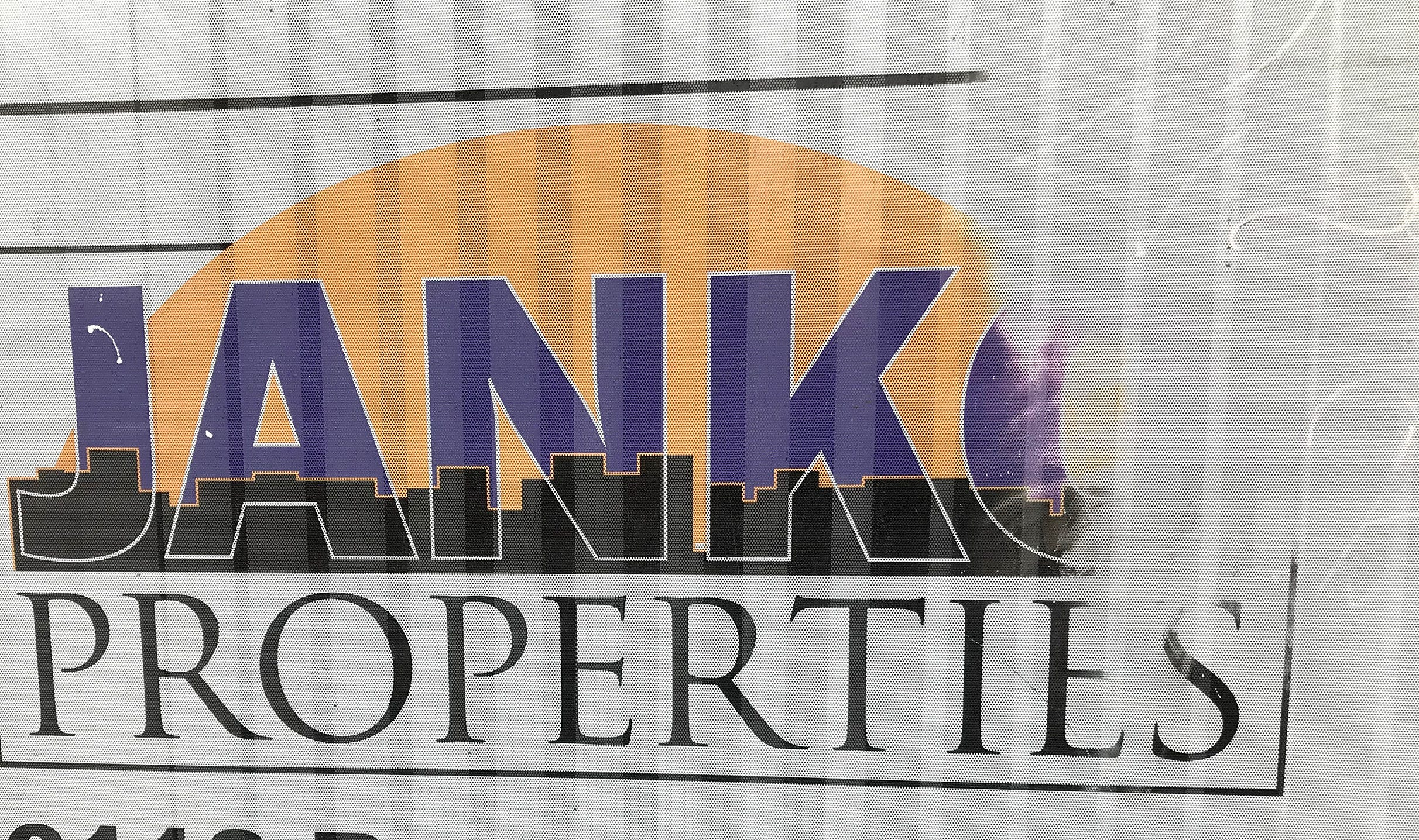 """The Oak Park, Il. headquarters office for Bulldog Ridge LLC and two affiliated companies that own rental homes in Milwaukee. Note the letter """"O"""" in the Janko name is faded."""