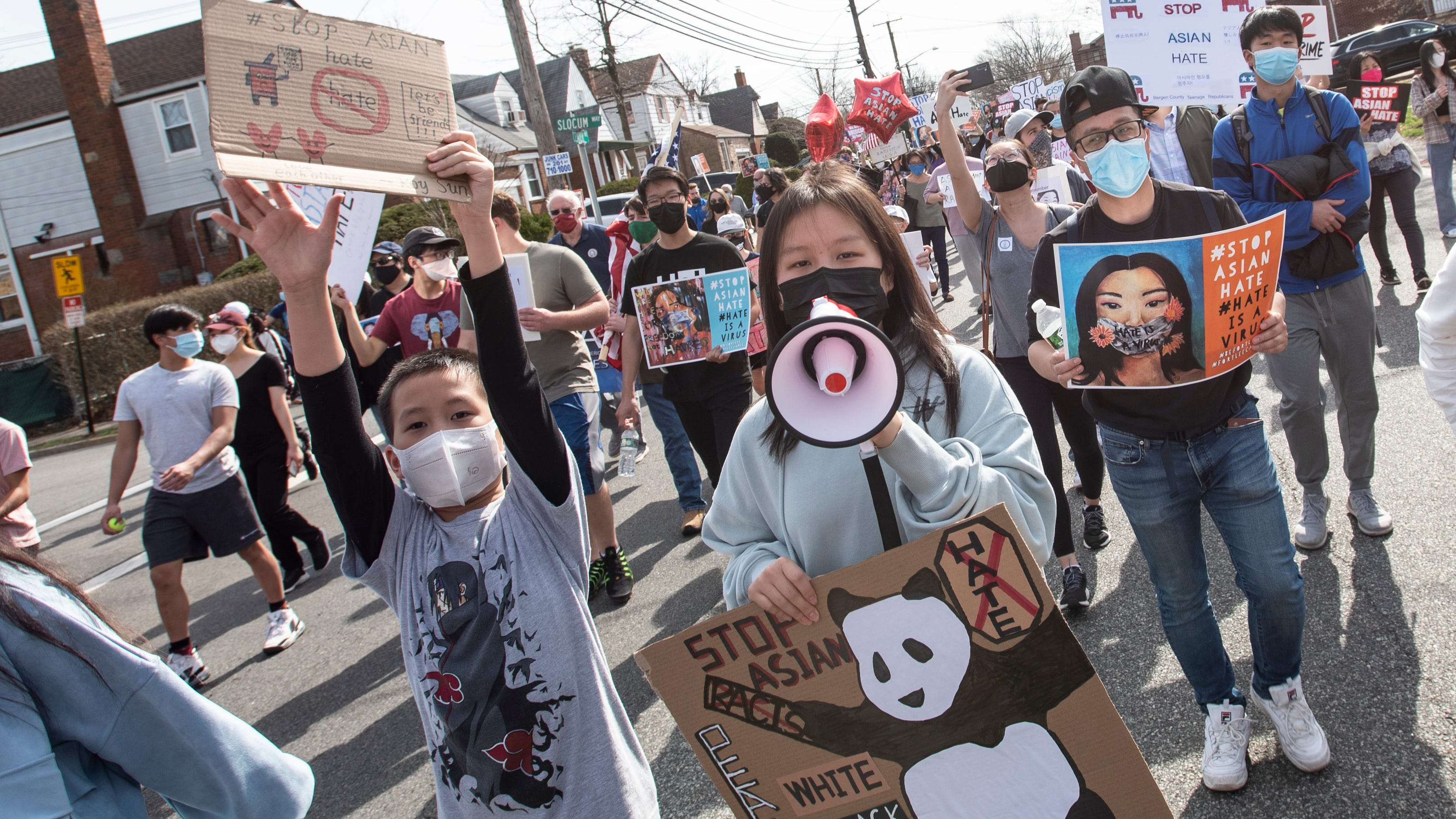 www.northjersey.com: 'We've been waiting for this moment:' Rally for Asian Americans in Fort Lee draws over 700