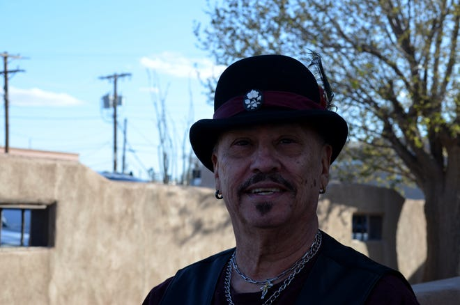 Gene Romero performed at NM Vintage Market Friday afternoon, March 26, 2021, kicking off the Experience Mesilla Spring Music Fest 2021.