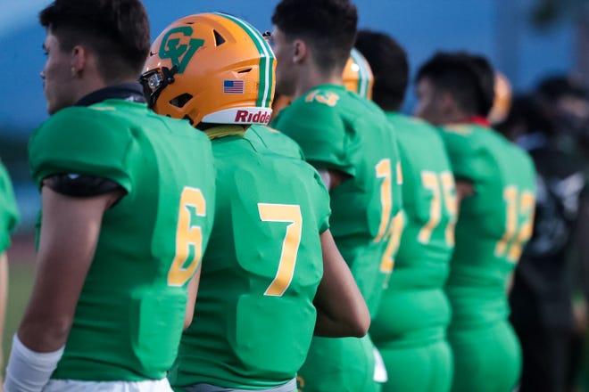 Coachella Valley plays Twentynine Palms in high school football on Friday, March 26, 2021, in Thermal, Calif.
