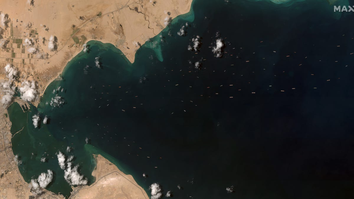 A big ship got stuck in the Suez Canal and blocked traffic. Again.