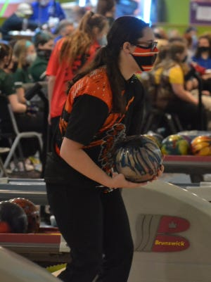 Sophomore Jenna Knaffle and the Cheboygan girls bowling team made it to the MHSAA Division 3 quarterfinals before falling to Hillsdale in Jackson on Friday.