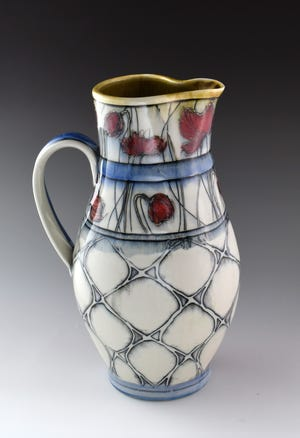 A pitcher designed by Dawn Candy