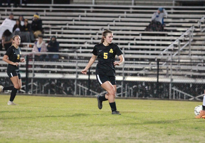 St. Amant senior Rachel Cretini is the Parish MVP.