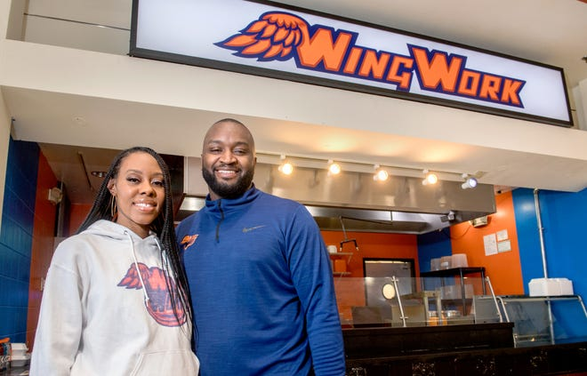 It was a dream come true for Alicia and Azadia Boyd when they opened Wing Work in the Northwoods Mall food court on June 1, despite the challenges brought on by the global pandemic.