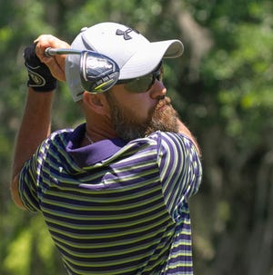 Tiger Godwin, shown here at the 4-Ball Invitational in March, is going for his fourth straight win at the Youth Villa Classic this weekend. He started off with a Day 1 lead Saturday.