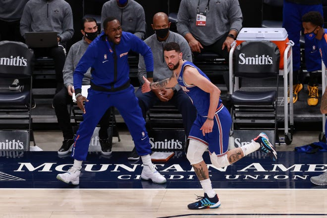 Former Knicks guard Austin Rivers has been waived by the Thunder.