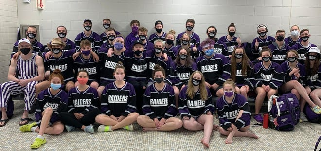 The Mount Union men's and women's teams both finished second at this year's Ohio Athletic Conference Swimming and Diving Championships.