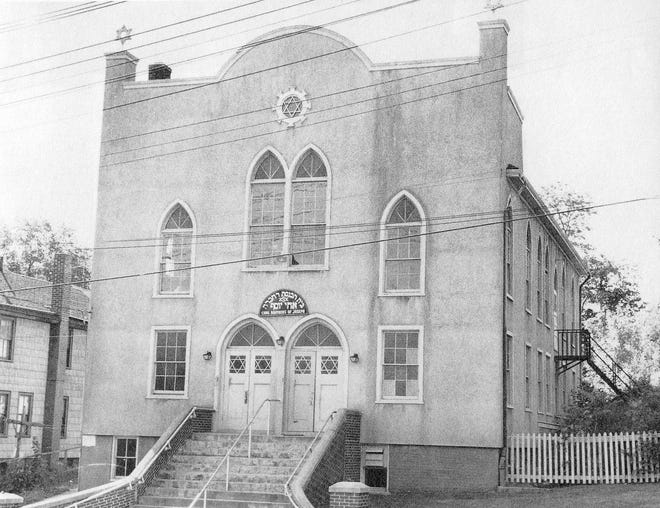 The former Brothers of Joseph Synagogue, built in 1898, stood on West Main Street in Norwich before the current synagogue opened in 1966 at Washington and Broad streets.