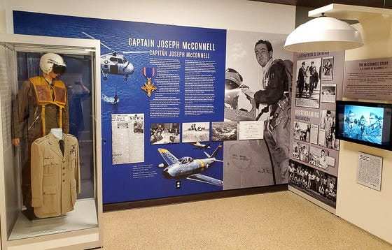 """The """"Military in the Mojave"""" exhibit at the Victor Valley Museum."""